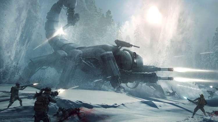 Gdzieś pod grubą warstwą śniegu widziano podobno złotego Skorpitrona