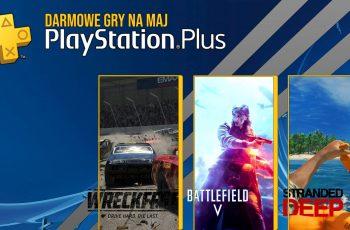 Playstation Plus na Maj!